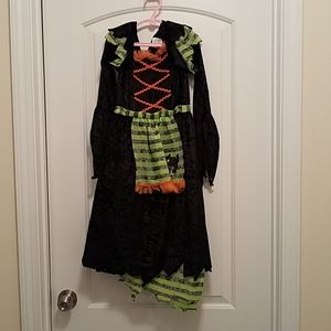 Other - Black/Green/Orange Witch Costume